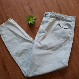 Forever 21+ high waisted skinny jeans. Sz 26